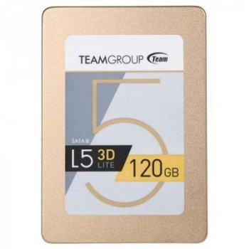 """Накопичувач SSD 2.5"""" 120GB Team (T253TD120G3C101)"""
