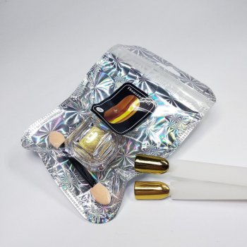Втирка дзеркальна для дизайну нігтів Thousand foil №2