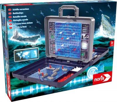 Настільна гра Noris Морський бій у кейсі (606100335)