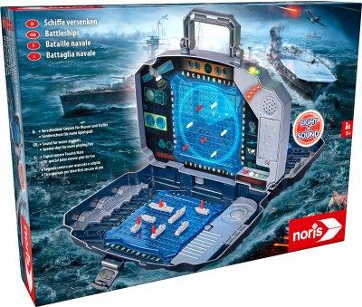 Настільна гра Noris Морський бій у кейсі зі звуком і світловими ефектами (606104435)