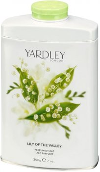 Тальк для тела Yardley Lily of the Valley 200 г (5060322952352)