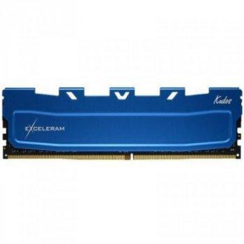 Модуль памяти для компьютера DDR4 8GB 3000 MHz Blue Kudos eXceleram (EKBLUE4083021A)