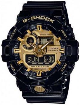 Чоловічі годинники Casio GA-710GB-1AER