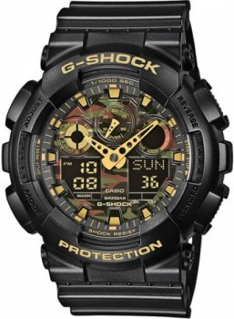 Чоловічі годинники Casio GA-100CF-1A9ER