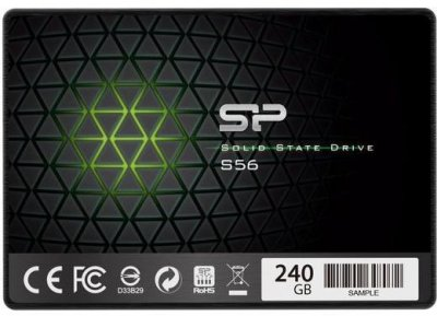 "Накопичувач SSD SiliconPower S56 240GB 2.5"" SATAIII TLC (SP240GBSS3S56B25)"