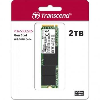 Накопичувач SSD M.2 2280 2TB Transcend (TS2TMTE220S)