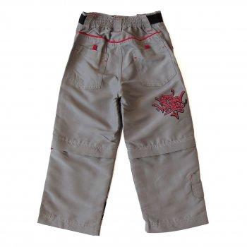 Брюки-шорты Hot Wheels для мальчика Серый 6301
