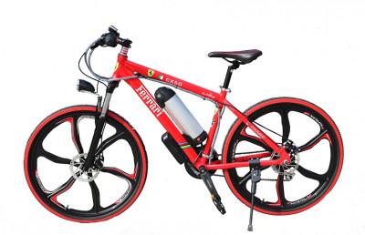 Электровелосипед Ferrari electrobike RD Красный 750