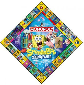 Настільна гра Winning Moves Monopoly Spongebob Squarepants (5036905039093)