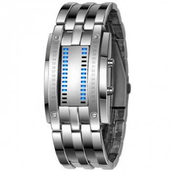 Мужские часы LED Skmei 0926 Silver (0401)