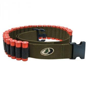 Патронташ-пояс для 25 патронов 12-20 калибра Mossy Oak Shotgun Shell Belt Зеленый (MO-SSB-GR)