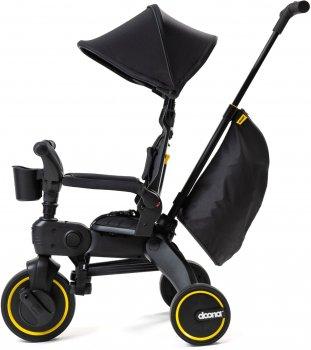 Складной трехколесный велосипед Doona Liki Trike Limited Edition Midnight (SP540-99-040-015)
