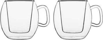 Набор чашек Luigi Bormioli Thermic Glass Supremo Coffee 300 мл 2 шт (10973/01)