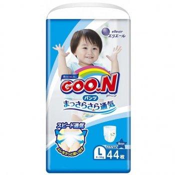 Підгузник GOO.N Трусики для хлопчиків 9-14 кг (L, 44 шт) (853627)