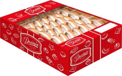 Печенье Делиция сдобное Сбивное в молочной глазури со вкусом вишни 1 кг (4823102500799)