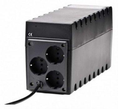 ДБЖ Powercom RPT-800A, 3 x євро (00210189)