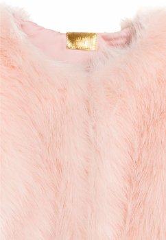 Полушубок H&M 5651366 Светло-розовый