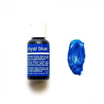 Пищевой краситель Chefmaster Liqua-gel гелевый королевский синий 21 г