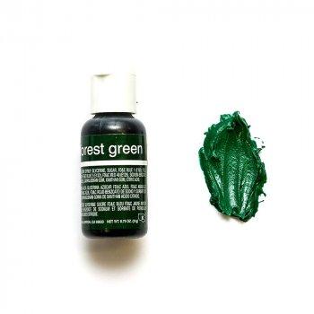 Пищевой краситель Chefmaster Liqua-gel гелевый темно-зеленый 21 г
