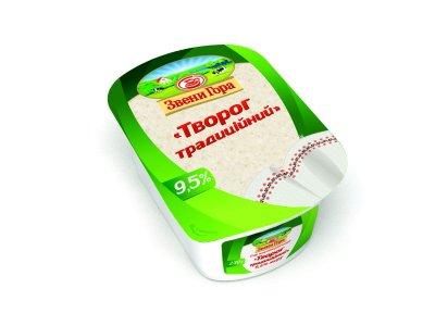 Сир кисломолочний Звени Гора Сир традиційний 9,5% жиру 230г