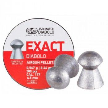 Пули пневм JSB Diabolo Exact, 4,53 мм 0,54 г (500шт/уп)
