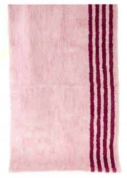 Килимок у ванну кімнату (65 х 120 см) miomare рожевий-бузковий F04-370066
