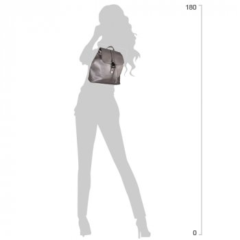 """Рюкзак молодежный Cabinet 12.2"""" женский 0.65 кг 6-15 л Серый (O97579)"""
