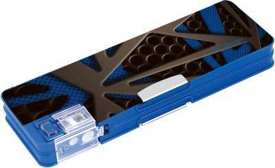 Пенал пластиковий Cool For School 3D 7012 на магніті з точила 2 відділення Синій (CF86613)