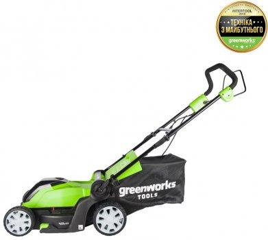 Газонокосилка электрическая Greenworks GLM1241 (2505207)