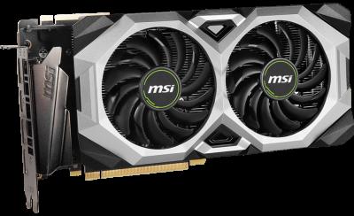 MSI PCI-Ex GeForce RTX 2080 Super Ventus XS OC 8GB GDDR6 (256bit) (1830/15500) (HDMI, 3 x DisplayPort) (RTX 2080 SUPER VENTUS XS OC)