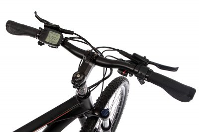 "Електровелосипед E-motion MTB 29"" GT 36V 12Ah 500W / рама 19"" чорно-червоний (EMTB29193612500-BR)"