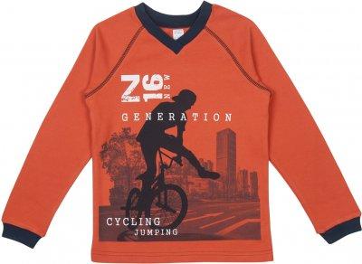 Пуловер Z16 3ІН108 (2-365) Жовтогарячий