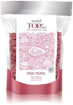 Пленочный воск для депиляции ItalWax TOP Line Розовый жемчуг в гранулах 750 г (8032835172005)