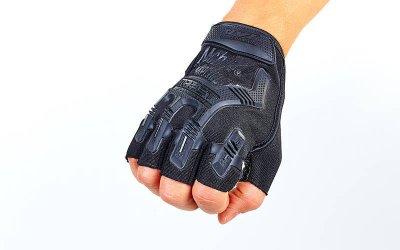 Перчатки тактические с открытыми пальцами MECHANIX BC-4926-L Черный L (MR03893)