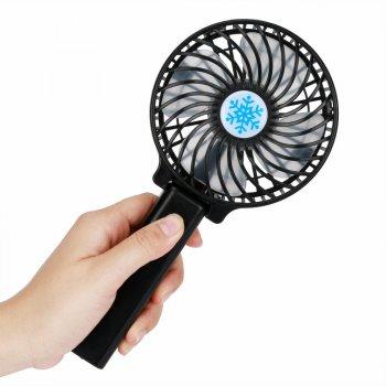 Портативний ручний вентилятор Memos handy fan mini чорний