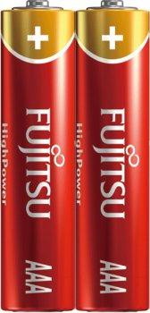 Батарейки Fujitsu Alkaline High Power AAA (LR03) 2 шт Shrink (4976680633004)