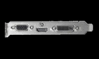 Відеокарта Asus GeForce GT 710 1GB GDDR5 (32bit) (954/5012) (VGA, DVI, HDMI) (GT710-SL-1GD5-BRK)