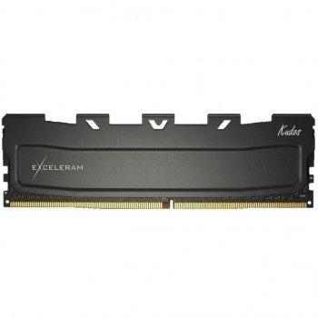 Модуль пам'яті для комп'ютера DDR4 32GB 2400 MHz Black Kudos eXceleram (EKBLACK4322417C)