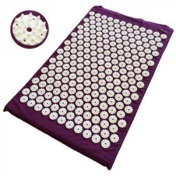 Набор коврик акупунктурный массажный + подушка