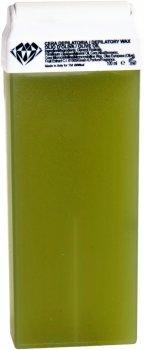 Віск для депіляції BRINail Green Olive Oil у картриджі 100 мл (2142393100238)