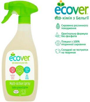 Универсальный спрей для чистки твердых поверхностей Ecover Multi-Action Spray 500 мл (5412533004618)