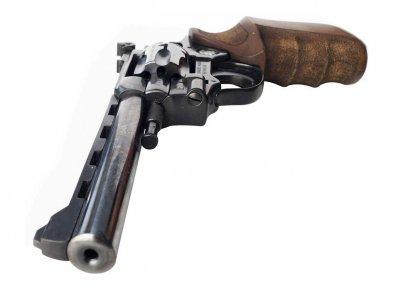"""Револьвер Weihrauch HW4 6"""" с деревянной рукоятью"""