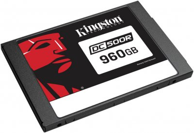 "Kingston DC500R 960GB 2.5 ""SATAIII 3D TLC (SEDC500R/960G)"
