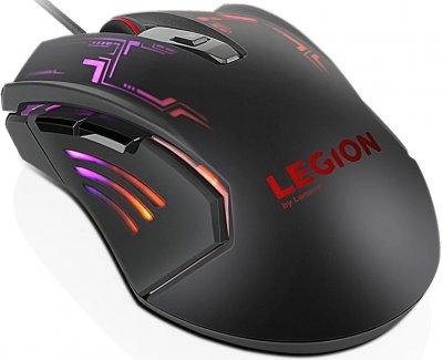 Миша Lenovo Legion M200 RGB Gaming Mouse USB Black (GX30P93886)