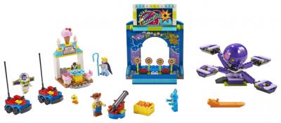 Конструктор LEGO Juniors Toy Story 4 Парк аттракционов Базза и Вуди 230 деталей (10770)