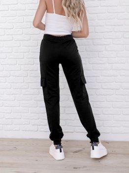 Спортивні штани ISSA PLUS 9980 Чорні