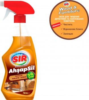 Засіб Sir для очищення дерев'яних виробів і меблів 750 мл (8693023014264)