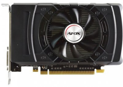 AFOX PCI-Ex Radeon RX 550 2GB GDDR5 (128bit) (1180/6000) (DVI, HDMI, DisplayPort) (AFRX550-2048D5H4)