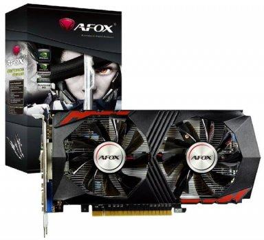 AFOX PCI-Ex GeForce GTX 750 Ti 2GB GDDR5 (128bit) (1020/5400) (DVI, VGA, HDMI) (AF750TI-2048D5H5-V7)