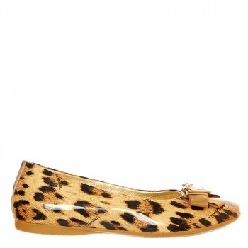 Балетки Roberto Cavalli FEC2105 32 леопардовий
